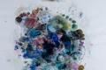 """""""Μυρωδιές από φλισκούνι και άστρα"""",  Τέμπερα και ακουαρέλα 70χ50 εκ. 2018-19"""