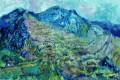 """""""Το μεγάλο βουνό"""", Τέμπερα, 70χ100εκ  2019"""